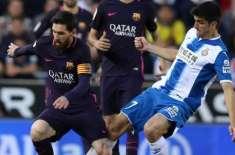 سپینش فٹبال لیگ ، بارسلونا نے اسپینوئل کو3-0 سے شکست دیدی
