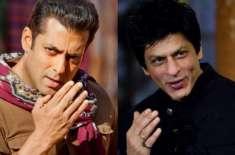 شاہ رخ خان اور سلمان خان ایک بار پھر چھوٹی اسکرین پر حریف بن گئے