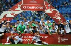 جرمن فٹبال ٹیم فیفا رینکنگ میں پہلی پوزیشن پر آگئی