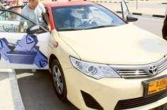 راس الخیمہ :ٹیکسی میں سوار مسافر ڈرائیور سے نقدی اور ٹیکسی چھین کر فرار ..