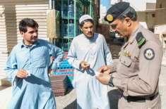 سعودی مملکت میں گرفتار کیے گئے تارکین کی گنتی 28 لاکھ سے زائد