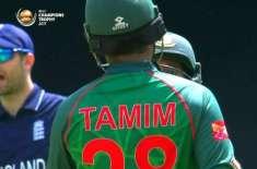 چیمپئنزٹرافی کے پہلے میچ میں بنگلہ دیش نے انگلینڈ کو جیت کیلئے 306 رنز ..