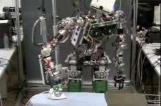 سپین کی یونیورسٹی نے کپڑے استری کرنے کے لیے روبوٹ بنا لیا
