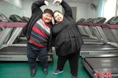 انتہائی موٹے جوڑے نےدو سال میں  مجموعی طور پر 200 کلو گرام وزن کم کر لیا