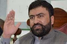 بلوچستان عوامی پارٹی کے نومنتخب سینیٹر سرفراز بگٹی نے حلف اٹھا لیا