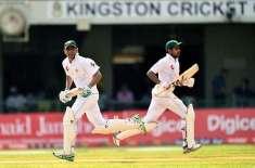 پاکستان نے سیریز کے پہلے ٹیسٹ میچ میں ویسٹ انڈیز کو 7 وکٹوں سے شکست دے ..