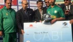 پاکستان نے بلائنڈ ٹی ٹونٹی ورلڈ کپ میں بھارت کو شکست دے دی