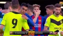 سپین، بارسلونا کے ہاتھوں 12-0 کی بدترین شکست پر فٹبال کوچ اور کھلاڑی ..