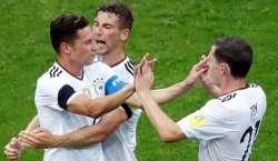 کونفیڈریشن کپ: جرمنی کی آسٹریلیا کو تین کے مقابلے میں دو گول سے شکست
