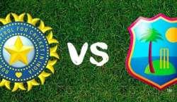 ویسٹ انڈیز اور بھارت کی کرکٹ ٹیموں کے درمیان چوتھا ون ڈے انٹرنیشنل ..
