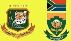 جنوبی افریقہ اور بنگلہ دیش کے درمیان دو ٹیسٹ میچوں کی سیریز کا پہلا ..