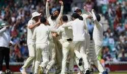 اوول ٹیسٹ ، انگلینڈ نے جنوبی افریقہ کو 239 رنز سے شکست دیکر سیریز میں ..