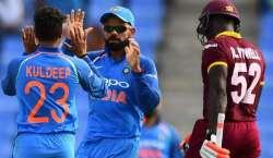 بھارت نے تیسرے ون ڈے میچ میں ویسٹ انڈیز کو 93 رنز سے ہرا دیا
