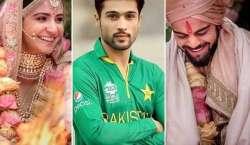 محمد عامر کی ویرات کوہلی ، انوشکا شرما کو نئی زندگی کی مبارکباد ،بری ..