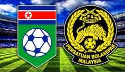 ایشین فٹ بال کپ کوالیفائرز، ملائیشیا اور شمالی کوریا کے درمیان میچ ..