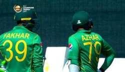 چیمپئنز ٹرافی کا پہلا سیمی فائنل، 212 رنز کے ہدف کے تعاقب میں پاکستان ..