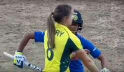 ویمنز ورلڈ کپ ،ایلیسی پیری کی جانب سے شسما ورماکو رن مکمل کرنے سے روکنے ..