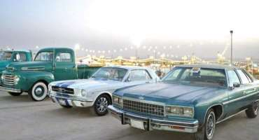 بریدہ میں پرانی گاڑیوں کی نمائش ، ملکی اور غیر ملکی شہریوں کی بڑی تعداد ..