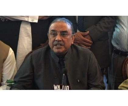 سابق صدر آصف علی زرداری سے خیبرپختونخوا کی ممتاز سیاسی شخصیات کی ملاقات