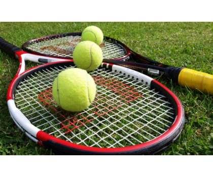 ڈی آئی جی امان اللہ خان ٹینس چیمپئن شپ 'کوارٹر فائنل مقابلوں کا آغاز