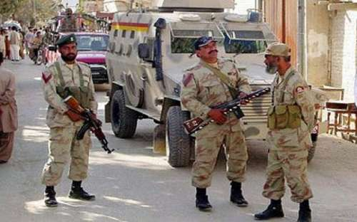 اورکزئی ایجنسی میں سیکیورٹی ..