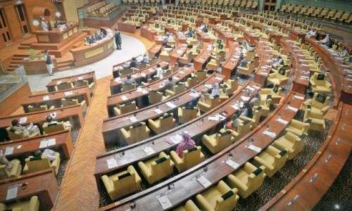 رکن اسمبلی خرم شیر زمان سندھ ..