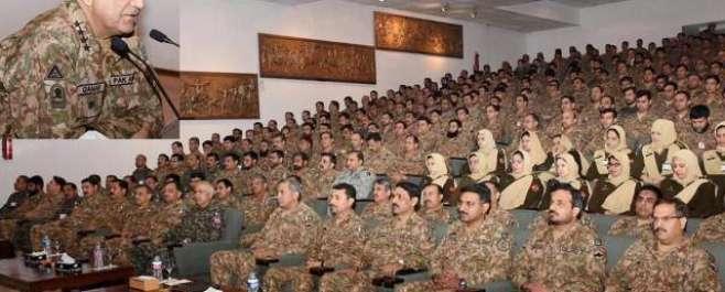 پاک فوج بھارت کی کسی بھی مہم جوئی کا منہ توڑ جواب دینے کیلئے تیار ہے ..