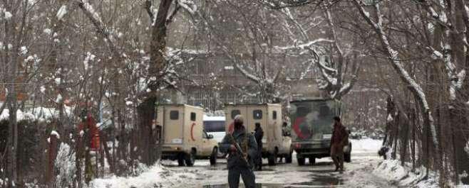 کابل :افغان سپریم کورٹ پر خود کش حملے میں24 افراد ہلاک60سے زائدد زخمی ..