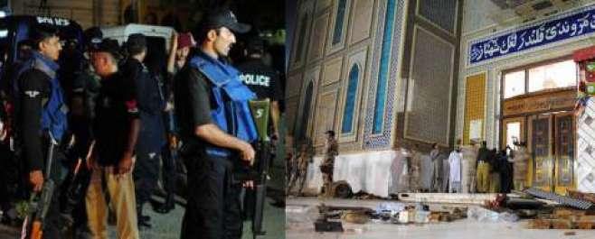 لال شہبازقلندرکے مزار پرخودکش حملہ میں ہلاک ہونے والوں کی تعداد 78ہوگئی- ..