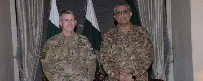 آرمی چیف کا افغانستان میں امریکی فوج کے سربراہ جنرل جون نکولسن کو ٹیلی ..