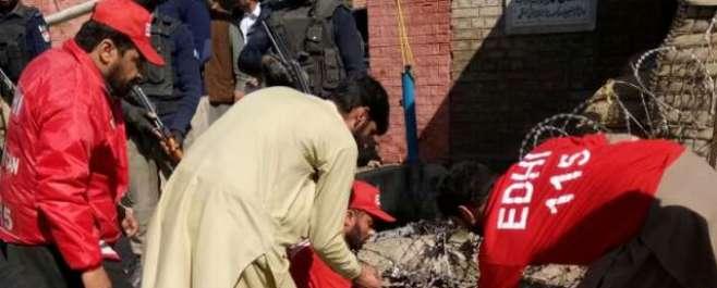 چارسدہ : کچہری کے قریب دھماکے ،6 افراد شہید 20 افراد زخمی
