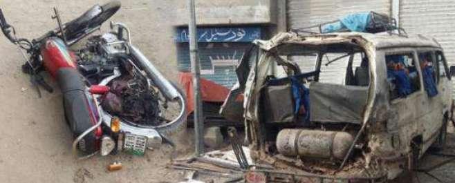 بیدیاں روڈ پر وین پر خود کش حملے میں4 فوجی اہلکار وں سمیت 3 شہری شہید ..