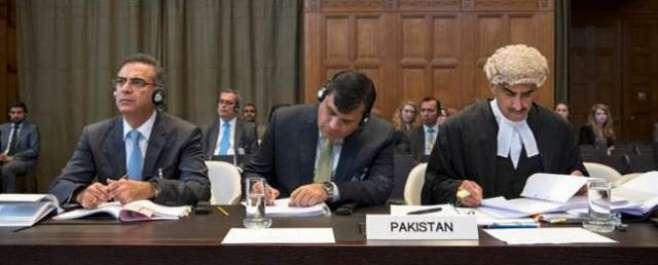 کلبھوشن کیس:عالمی عدالت میں پاکستان آئندہ سماعت پرایڈہاک جج بھی بھیجےگا