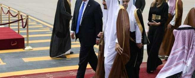 امریکی صدر ڈونلڈ ٹرمپ سعودی عرب پہنچ گئے، اعلیٰ سعودی قیادت نے استقبال ..