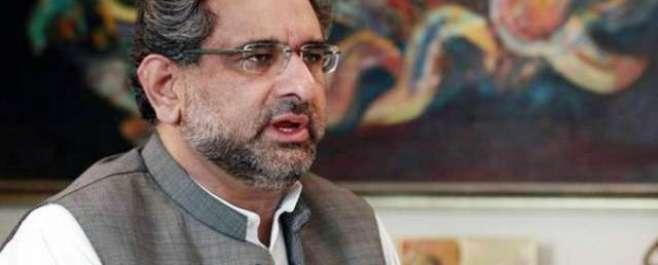 کوئی ٹیکنوکریٹس کی حکومت ملک کے مسائل حل نہیں کرسکتی،شاہد خاقان عباسی