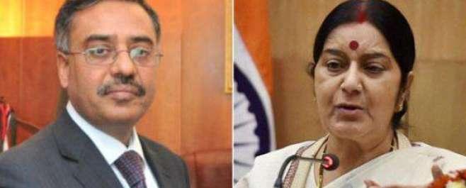 بھارتی وزیرخارجہ سشما سوراج کا پاکستان سے کلبھوشن کے معاملے پرنظرثانی ..