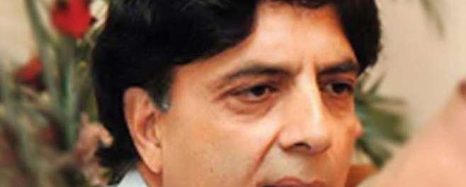 سندھ حکومت کامحدوداختیارات دینےکاعندیہ خلاف قانون ہے،چوہدری نثار