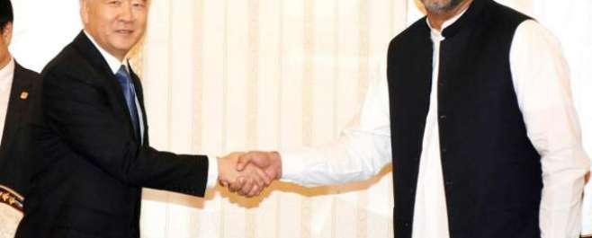 وزیر اعظم کی چین کے نائب وزیر اعظم سے ملاقات ، باہمی دلچسپی کے امور ..