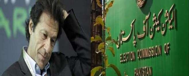 الیکشن کمیشن نے تحریک انصاف کے چیئرمین عمران خان کے ناقابل ضمانت وارنٹ ..