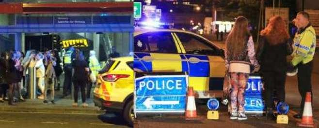برطانیہ 'مانچسٹرایرینا میں موسیقی کے پروگرام میں دھماکا-19افراد ہلاک'50زخمی- ..