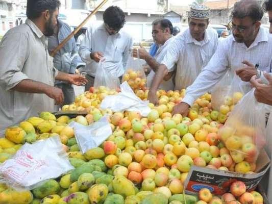 رمضان المبارک شروع ہوتے ہی فروٹ کی قیمتوں میں اضافہ فروٹ منڈی مالکان ..