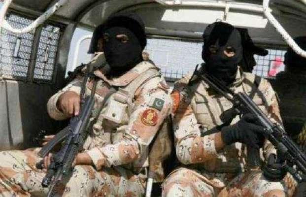 رینجرز کی کارروائیاں، 2 ملزمان گرفتار، اسلحہ برآمد