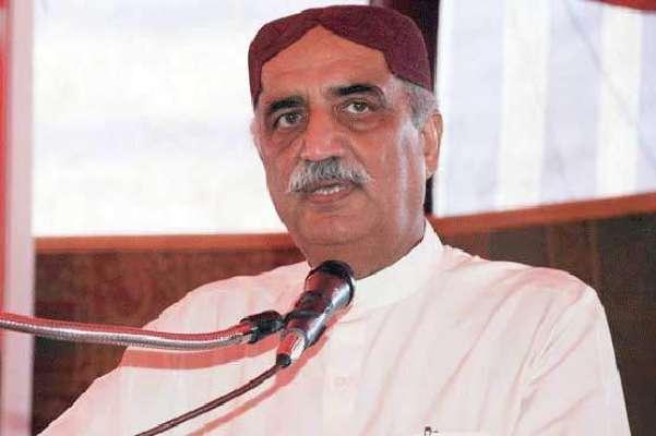 الیکشن کمیشن نے سیّد خورشید شاہ کے خلاف زمین پر قبضہ سے متعلق درخواست ..