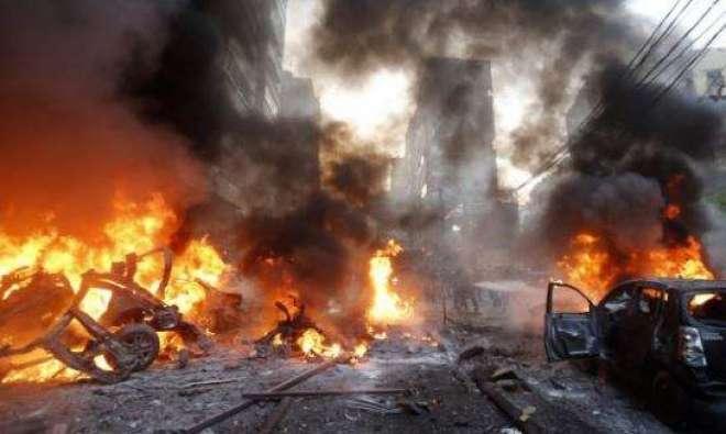 چمن : مال روڈ اسپیشل دفتر کی برانچ کے باہر زور دار بم دھماکہ6افراد زخمی