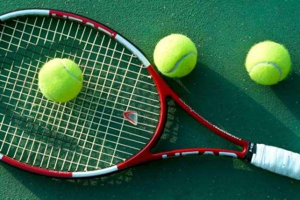 ٹینس کھلاڑی مارٹن فکسوویکس اور پیٹر گوجو ویک اور فابیو فوجنینی نے جنیوا ..