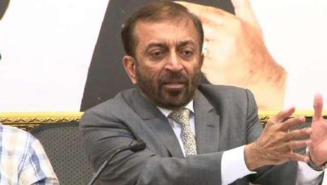 ایم کیوایم پاکستان عارضی مرکز بہادرآباد کے سیکورٹی انچارج عامر کے ..