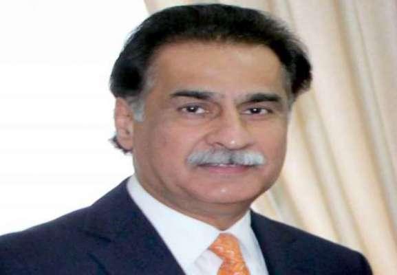 سپیکر قومی اسمبلی سردار ایاز صادق کی سر براہی میں 10 رکنی پارلیمانی ..