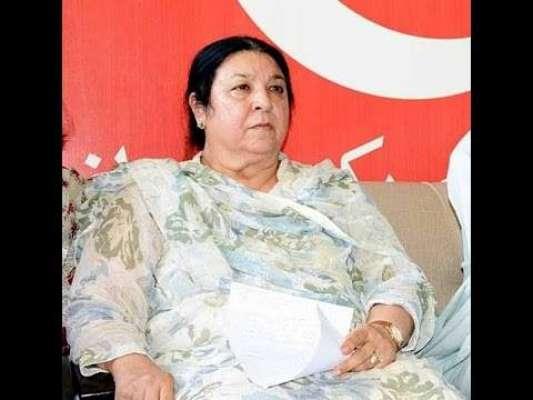 تحریک انصاف کی قیادت نے این اے 120 ضمنی الیکشن کی امیدوار یاسمین راشد ..