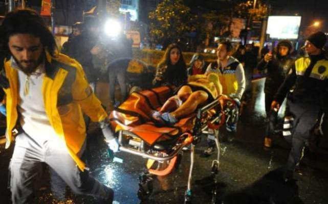 ترکی میں سال نو کی تقریب کے دوران نائٹ کلب میں فائرنگ، 35 افراد ہلاک ..