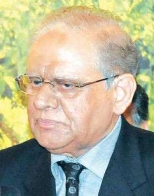 گورنر سندھ جسٹس (ر) سعید الزمان صدیقی انتقال کر گئے